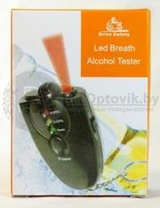 Брелок-алкотестер с фонариком Трезвый водитель